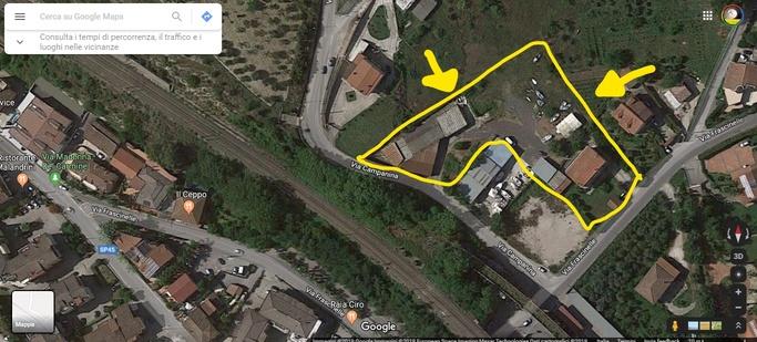 Agropoli – contrada Frascinelle-Capannone con terreno