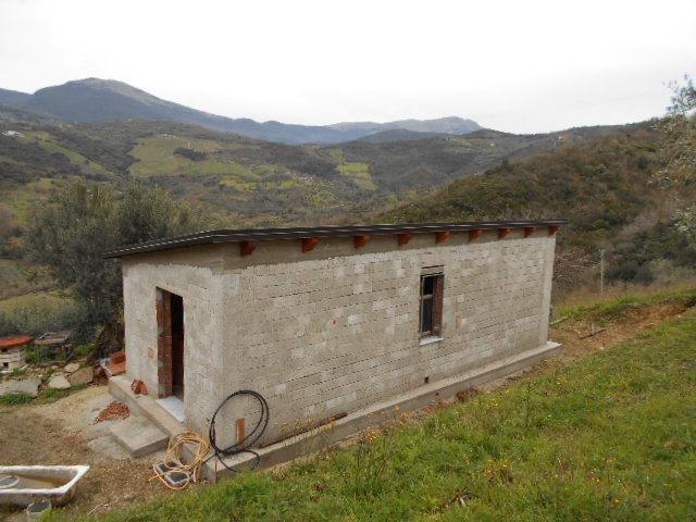 Cicerale – Fabbricato di nuova costruzione con terreno di 4.000 mq